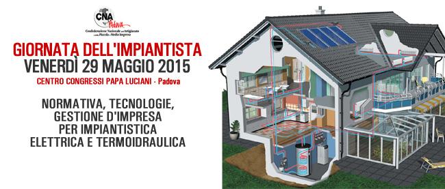 MarioDOC sarà presente alla Giornata dell'Impiantista – Padova 29 maggio 2015