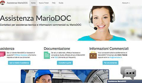 Piattaforma supporto tecnico online