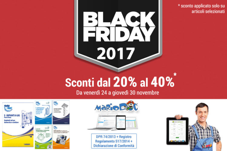 Speciale Black Friday 2017